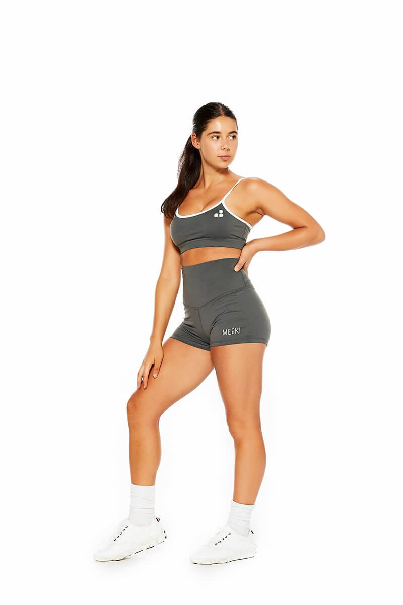 Original grey high waist shorts