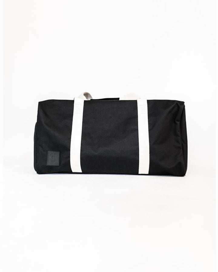 Load image into Gallery viewer, Weekend Duffle Bag - Black/Natural