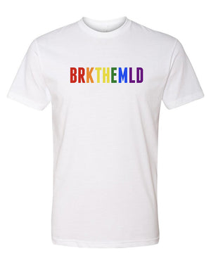Load image into Gallery viewer, Men's Classic BRKTHEMLD T-Shirt - PRIDE