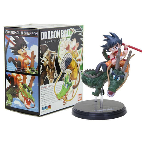 Figurine Dragon Ball : Goku & Shenron - Series-Addict