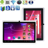 7 Inch 8 GB Touchscreen Tablet PC Android Quad-core Dual Cameras Supported WIFI and Bluetooth (Whtie) - coolfuel