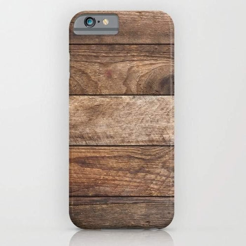 Vintage Wood Mobile Cover - coolfuel