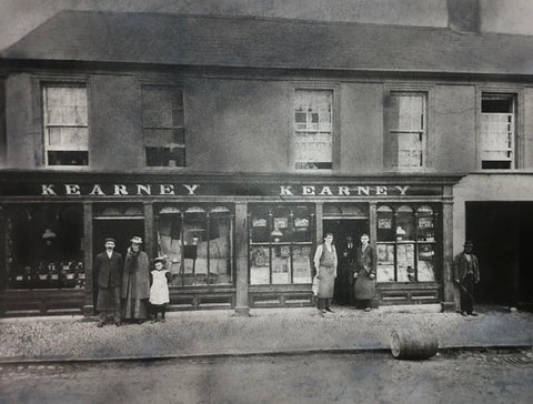 picture from 1900 of the kearneys store