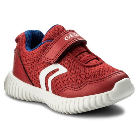 Geox Waviness Red Trainer