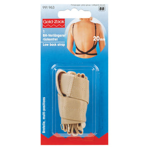 Prym Low Back Clip-On Bra Strap Extender 20mm