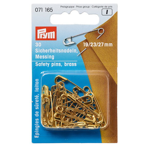 Brass Safety Pins