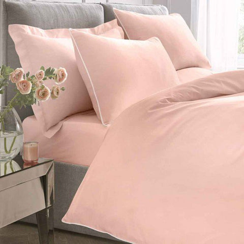 Appletree Blush Deep Fitted Sheets and Pillowcases