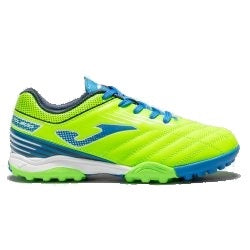 Joma astro turf runners in vivid blue and green
