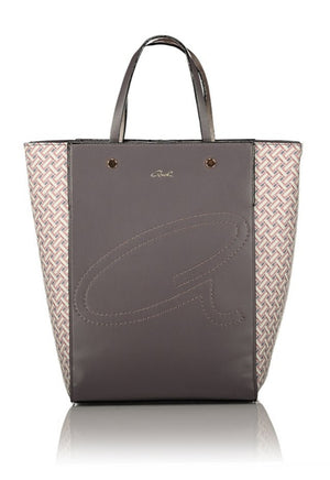 Axel Crossover Grey Handbag with Removable Strap