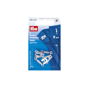 Prym Hooks and Bars 9mm