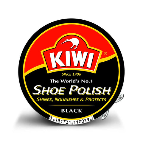 Kiwi Black Tin polish