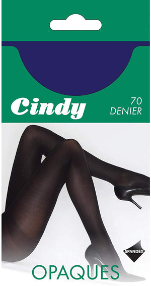 Navy 70 Denier Opaque Tights