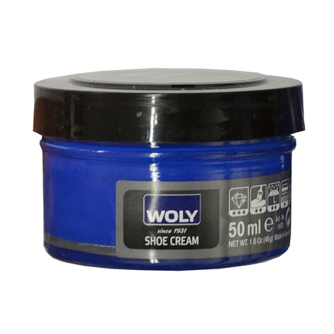 Woly Cobalt Blue Shoe Cream