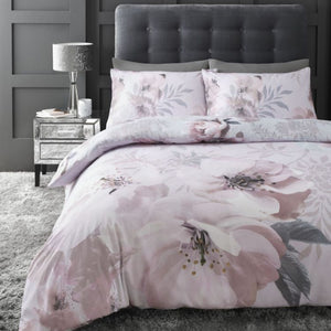 Catherine Lansfield Easy Care Floral Duvet Set
