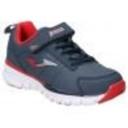 Tempo Navy Red Flat Sports Shoes
