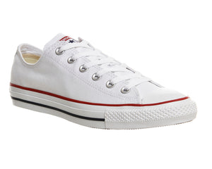 White Low Converse Shoes