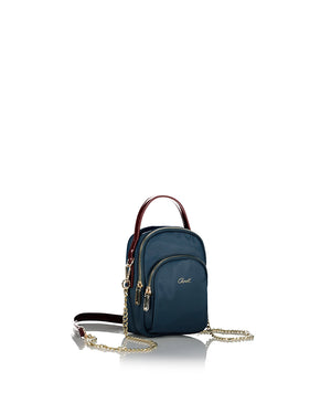 Alyssa Nylon Handbag with Removable Strap