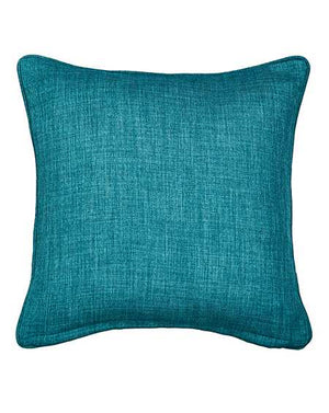 Hugo Woven Teal Cushion Cover