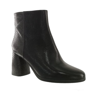 Calinda Black Ankle Boots