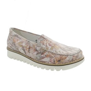 Habea Meadow Pink Ladies Slip-on Shoes