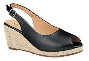 Wedge Heel Open Toe Sandal