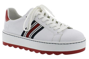 White Platform Women's Trainers