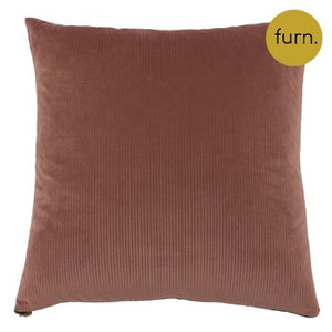 Dusty Pink Polyester Square Cushion