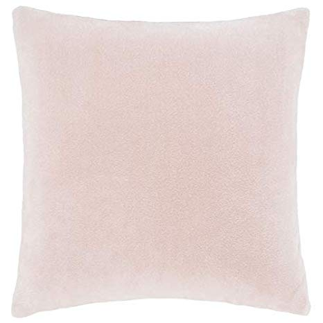 Catherine Lansfield Blush Raschel Cushion Cover