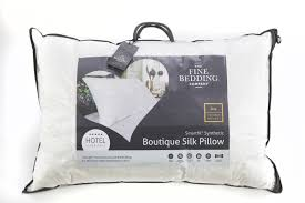 Boutique Silk Soft Touch Fibre Pillow