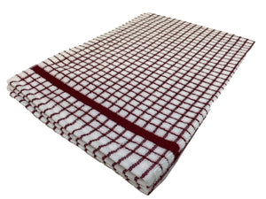 Samuel Lamont Burgundy Tea Towel