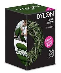 Dylon Olive Green Fabric Dye 350g