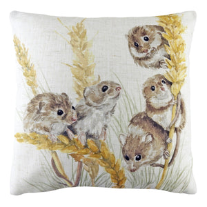 Field Mice Cushion Cover