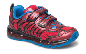 Geox Android Red Mesh Kids Trainers