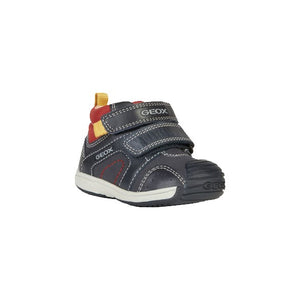 Toledo Navy Boys Shoes with Velcro Fastening