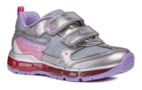 Geox Light Up Trainer J8445b