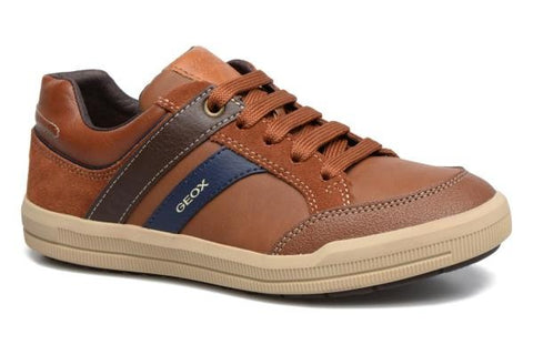 j744ai tan geox shoe