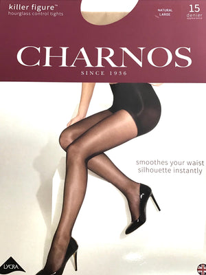 Charnos Killer Figure Natural Tights 15 Denier