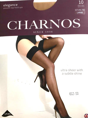 Luxurious Charnos Natural TAN Hold Ups