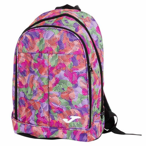 pink and purple school bag
