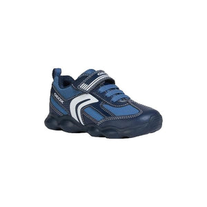 Munfrey Blue Boys Runner with Velcro Strap
