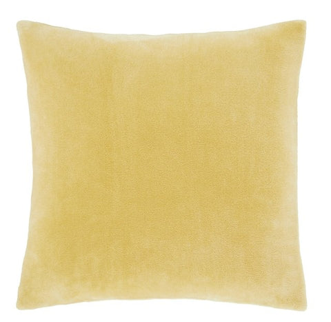 Catherine Lansfield Ochre Raschel Cushion Cover