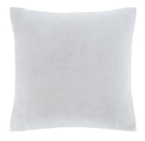 Catherine Lansfield Silver Raschel Cushion Cover