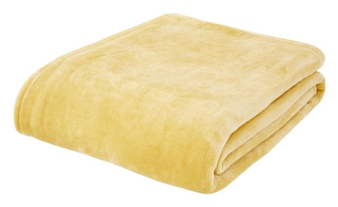 Ochre Raschel Throw