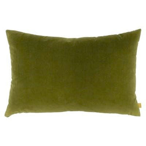 olive green rectangular cushion