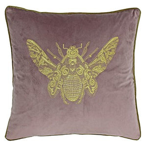 Dusty Pink Bee Cushion