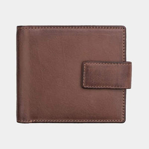 Ridgeback Brown Wallet closed