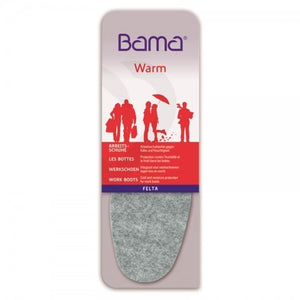 Warm Felt Vegan Insoles | Bama
