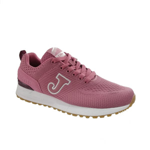 Joma's C800 mesh knit lightweight women's runner in a deep pink rose colour.
