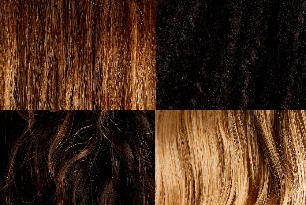 haircare different textures