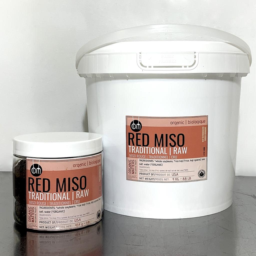 ORGANIC MISO, Traditional Red